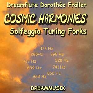 Solfeggio Tuning Forks music by Dreamflute Dorothée Fröller